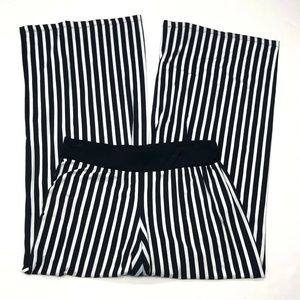Lauren Ralph Lauren Striped Palazzo Pants Sz M